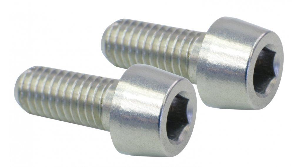 NC-17 schroef bidonhouder M5x12 (2 stuks) zilver