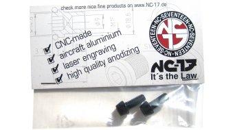 NC-17 tornillos de portabidones M5x12 (2 uds.) negro(-a)