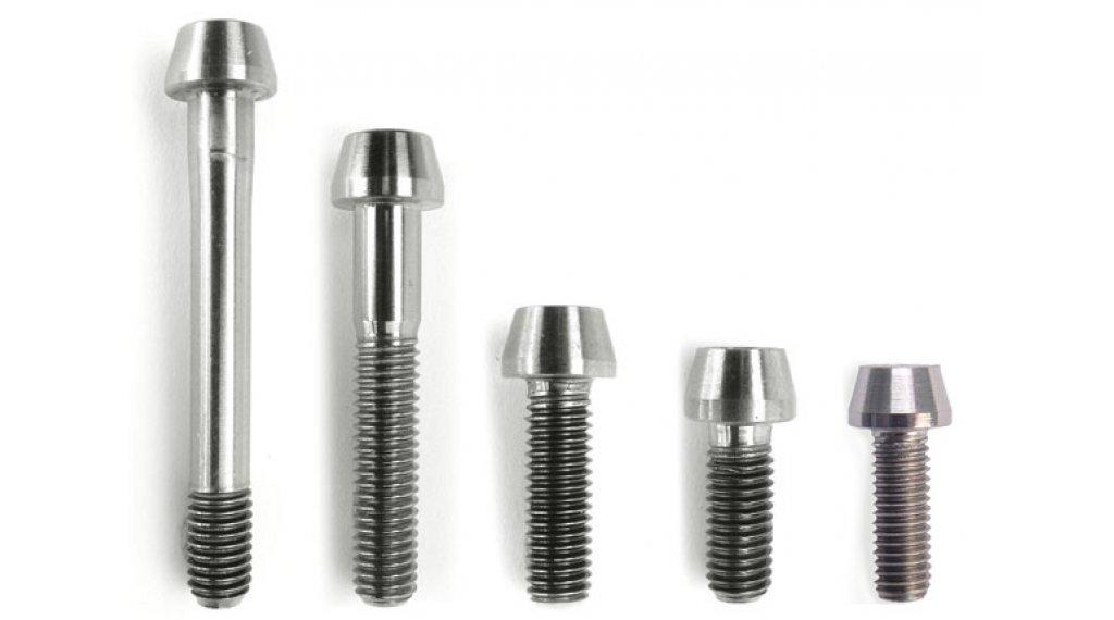 Syntace titanium binnenzeskantschroef (-ven) M5x16mm schroefdraadlengte 16mm