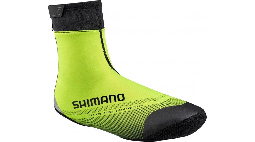 Shimano 1100R Soft Shell Überschuhe Gr. S neon/yellow