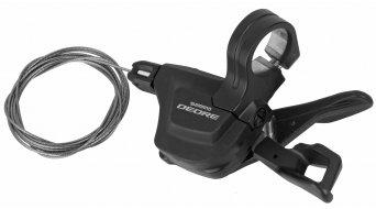 Shimano Deore MTB SL-M6000 Rapidfire Plus Schalthebel 2/3-fach links Schellen-Montage ohne optische Ganganzeige 2/3-fach schwarz