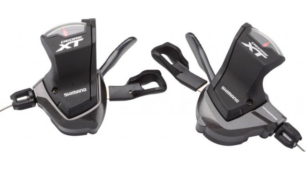 Shimano XT SL-M8000 变速手柄 双 2/3x11速 (含有档位标示)