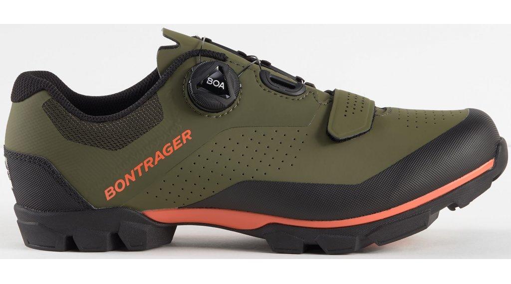 Bontrager Foray vélochaussures hommes Gr. 36.0 olive gris/roueioactive orange