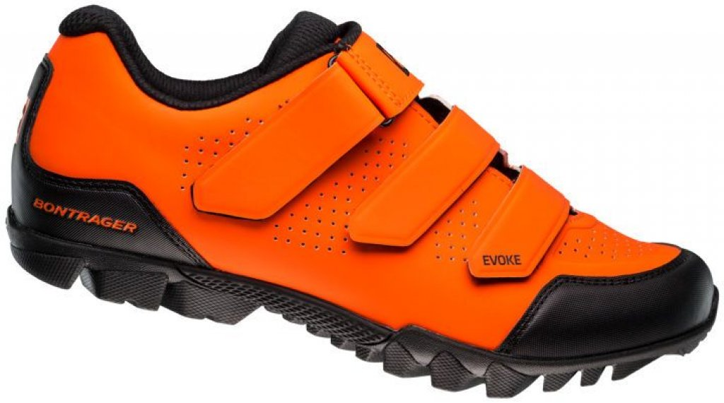 Bontrager Evoke MTB- shoes men size 39.0 blaze orange