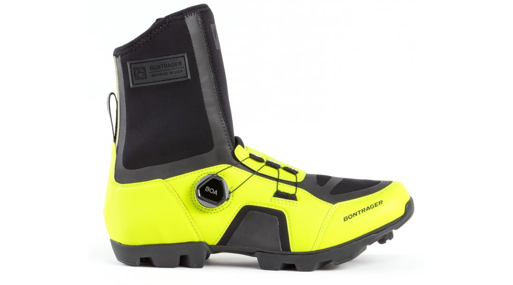 Bontrager JFW winter bike- shoes men size 47.0 wheelioactive yellow
