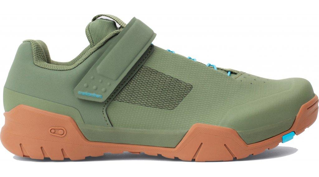 CrankBrothers Mallet E Speedlace MTB-Schuhe Gr. 37.0 (5.0) green/blue