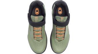 CrankBrothers Stamp Speedlace MTB-Schuhe Gr. 37.0 (5.0) green/orange