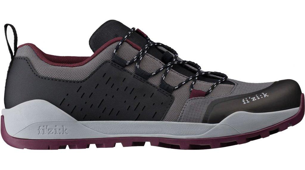 Fizik Terra Ergolace X2 MTB-Schuhe Gr. 40.0 anthracite/grape