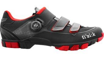 Fizik M6B Uomo MTB Schuhe Gr. 43.5 black/red