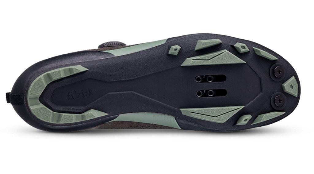 1046ad22ab74 Fizik Terra X5 Suede VTT chaussures taille 40.0 dark marron/sage green
