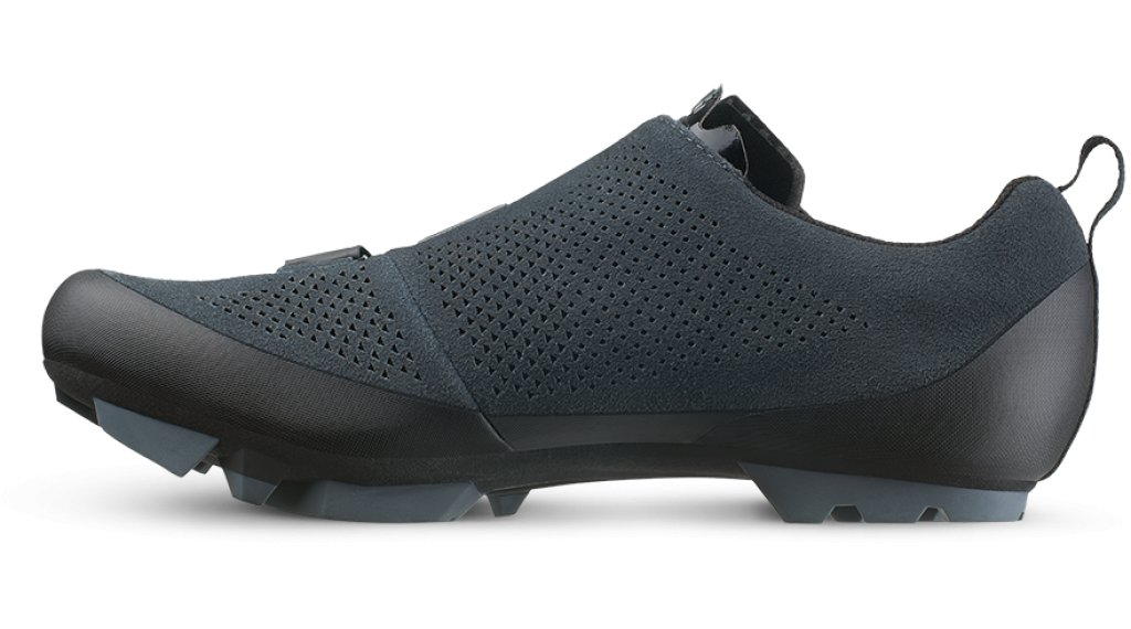 664e8022ad4a Fizik Terra X5 Suede VTT chaussures taille 40.0 anthracite/black