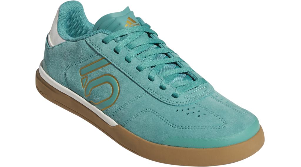 Five Ten Sleuth DLX MTB-Schuhe Damen Gr. 36 2/3 (UK4.0) green/white/cardboard