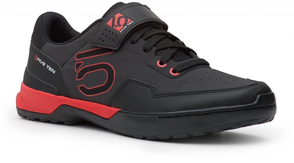 Five Ten Kestrel Lace SPD scarpe da MTB mis. 41.5 (UK-7.5) black/red mod. 2018