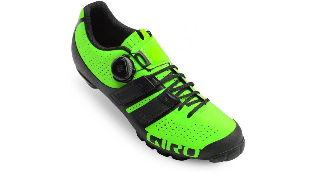 Giro Code Techlace MTB-zapatillas tamaño 40.0 lime/negro