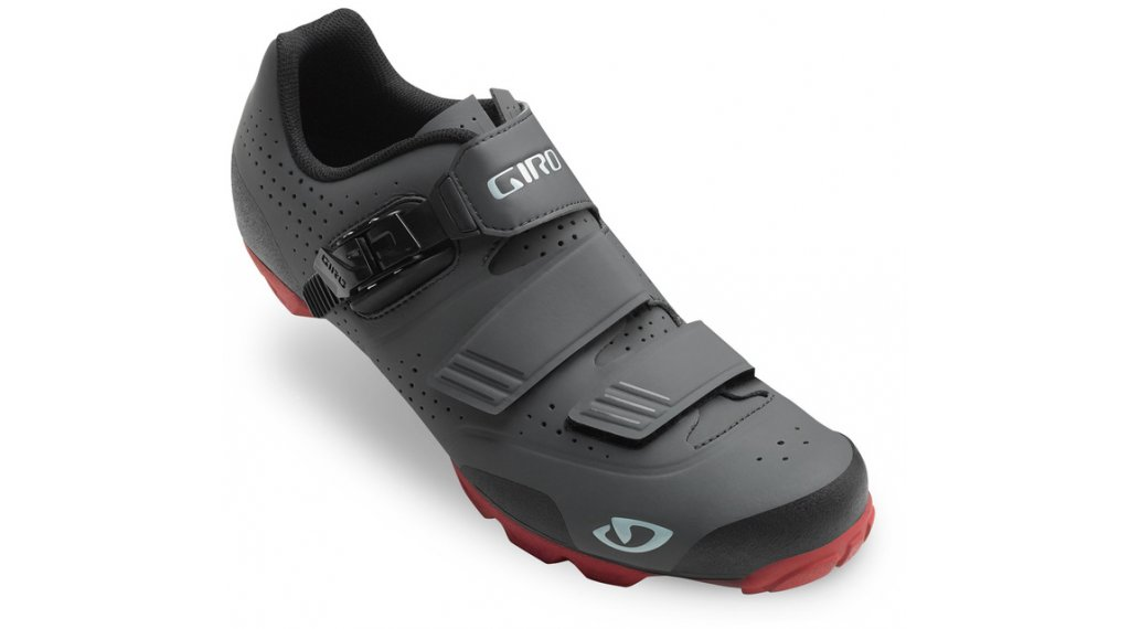 Giro Privateer R MTB Schuhe Gr. 39.0 dark shadow/dark red Mod. 2019