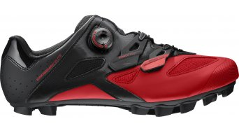 Mavic Crossmax Elite MTB-Schuhe Gr. 38 2/3 (5.5) black/fiery red