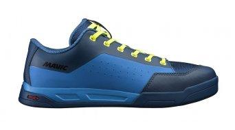 Mavic Deemax Elite Flat MTB-Schuhe Gr. 42 (8.0) poseidon/indigo bunting/safety yellow