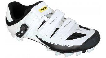 Mavic Crossride SL Elite Cross-Mountain-zapatillas Señoras-zapatillas tamaño 41 1/3 (7.5) blanco/negro/blanco