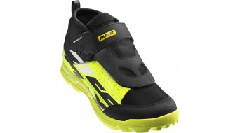 Mavic Deemax Elite MTB-Schuhe 2/3 black/safety yellow/white