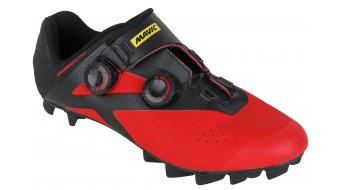 Mavic Crossmax Elite CM winter MTB- shoes men size 42 2/3 (8.5) black/fiery red/black- display item   without original packing !