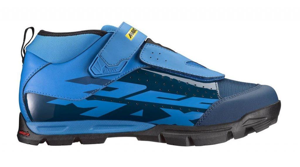 Mavic Deemax Elite MTB-Schuhe Herren Gr. 42 (8.0) poseidon/indigo bunting/black