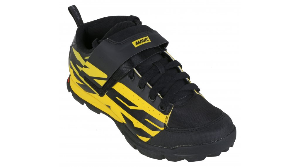 Mavic Deemax PRO MTB(山地)-鞋 男士 型号 42 2/3 (8.5) yellow Mavic/black/black- 样品/演示品  无 原包装