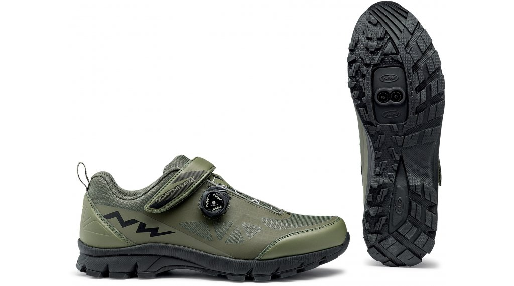 Northwave Corsair All Mountain MTB(山地)-鞋 型号 36.0 forest