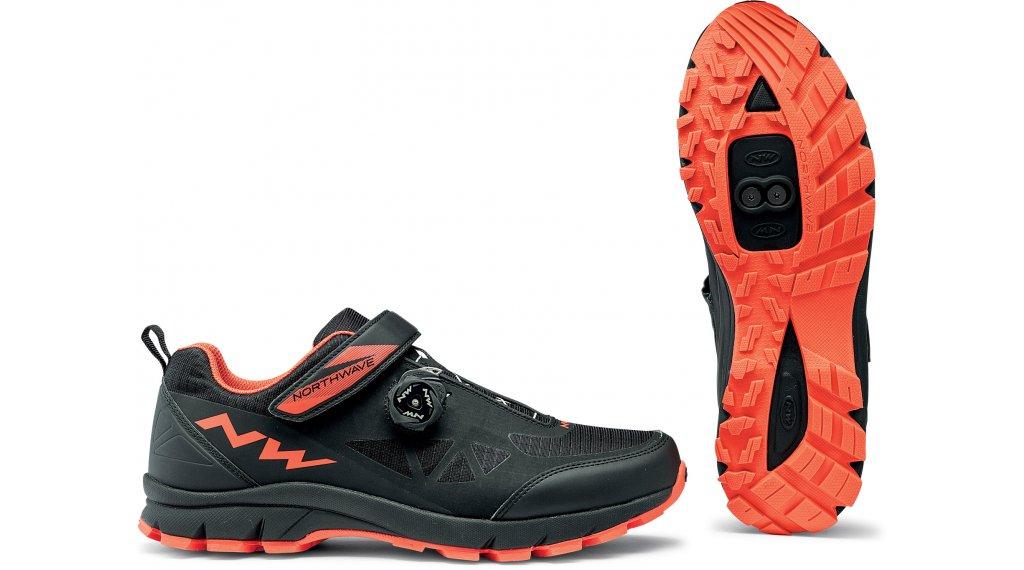 Northwave Corsair All Mountain MTB(山地)-鞋 型号 36.0 black/橙色