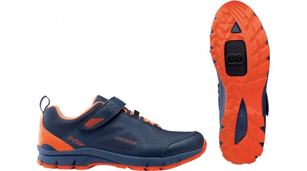 Northwave Escape Evo All Mountain MTB-Schuhe Gr. 36.0 blue/lobster orange