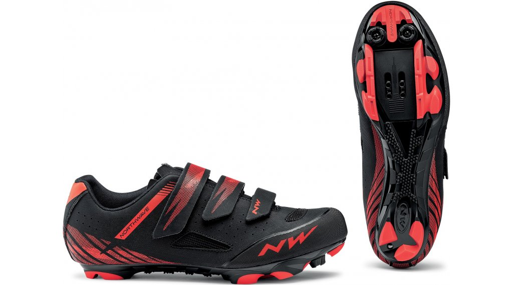 Northwave Origin MTB-Schuhe Gr. 36.0 black/red