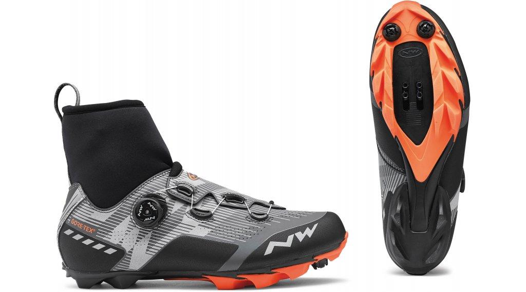 Northwave Raptor GTX Winter MTB-Schuhe Gr. 37.0 reflective/orange lobster