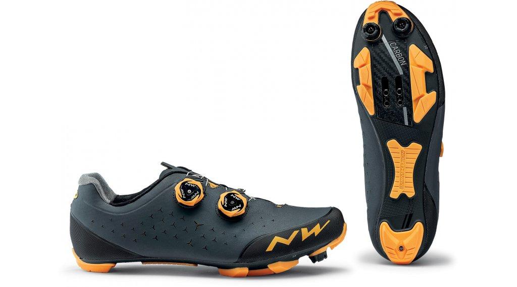 Northwave Rebel 2 MTB(山地)-鞋 男士 型号 36.0 anthracite/橙色