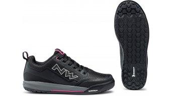 Northwave Clan MTB-Schuhe Damen black/fuchsia