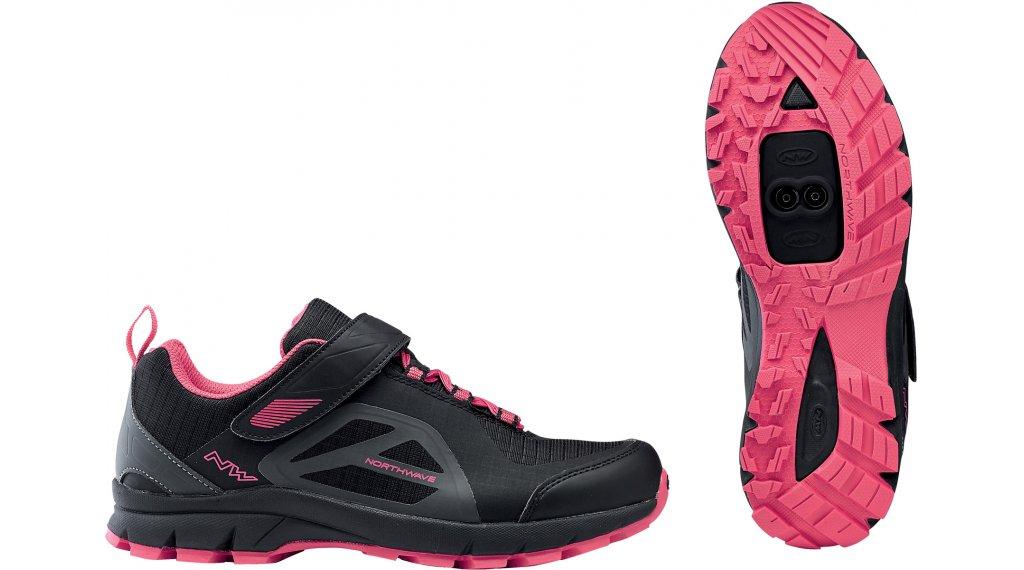 Northwave Escape Evo MTB-Schuhe Damen Gr. 37.0 black/fuchsia
