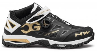 Northwave Enduro Mid MTB-Schuhe Herren Gr. 45.0 black/off white/gold