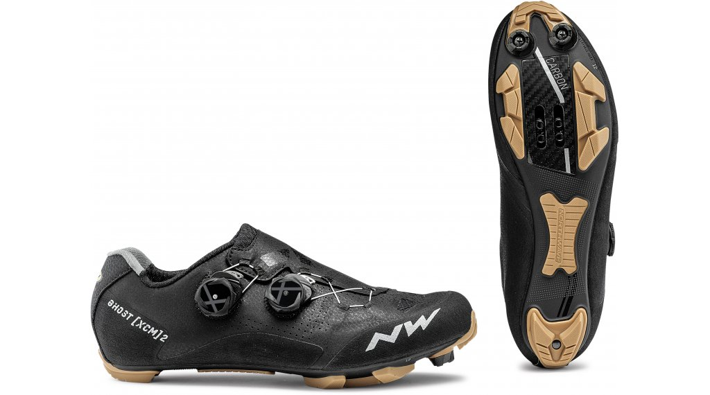 Northwave Ghost XCM 2 MTB-Schuhe Herren Gr. 41.0 black/honey