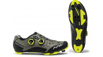 Northwave Ghost XCM 2 MTB- shoes men forest/yellow fluo