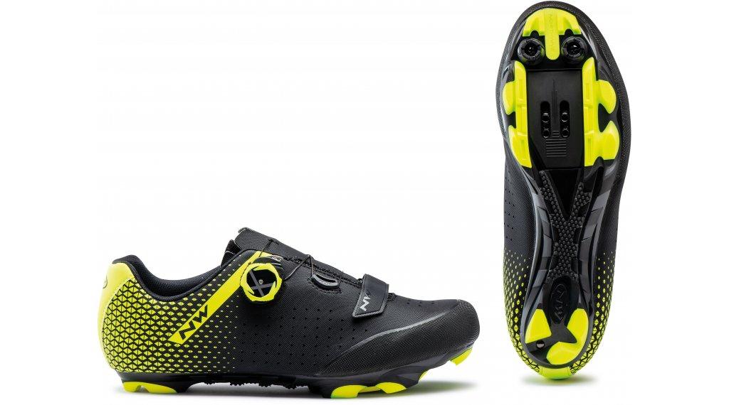 Northwave Origin Plus 2 MTB-Schuhe Herren Gr. 36.0 black/yellow fluo