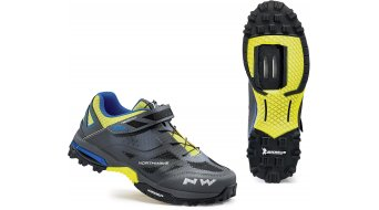 Northwave Enduro All Mountain MTB zapatillas anthra/amarillo fluo