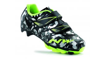 Northwave Hammer Junior MTB shoes kids- shoes camo/yellow fluo