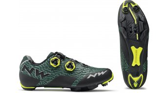 Northwave Rebel MTB-boty green gables/yellow fluo