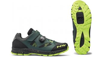 Northwave Terrea Plus MTB-boty green gables/yellow fluo