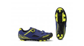 Northwave Origin Plus MTB- shoes blue/yellow fluo