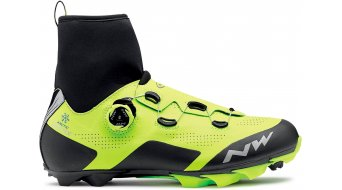 Northwave Raptor Arctic GTX winter MTB- shoes size 42.0 yellow fluo/black
