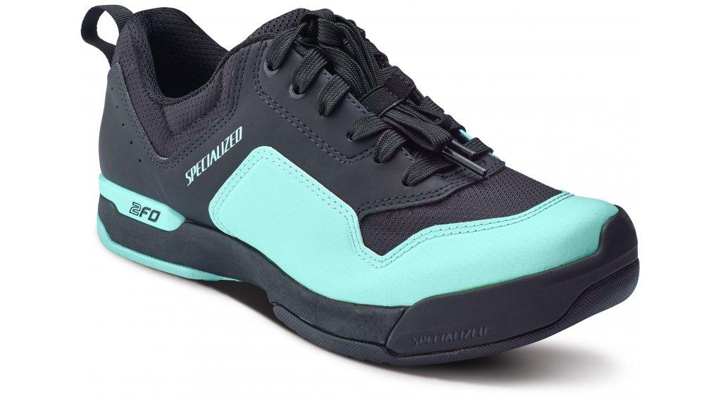 Specialized 2FO Cliplite Lace MTB-Schuhe Damen Gr. 37 black/turquoise Mod. 2018