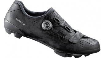 Shimano SH-RX800 Gravel/CX-zapatillas Caballeros tamaño 43.0 negro- MODELO DE DEMONSTRACIÓN- arañazos AN FUßSOHLE