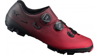 Shimano SH-XC701 SPD MTB- shoes size 45.0 red- display item with mounting spuren from Cleats. not used!