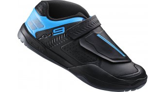 Shimano SH-AM9 SPD zapatillas All Mountain MTB-zapatillas negro(-a)/azul
