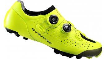 Shimano S-Phyre SH-XC9 SPD Schuhe MTB-Schuhe neon/gelb