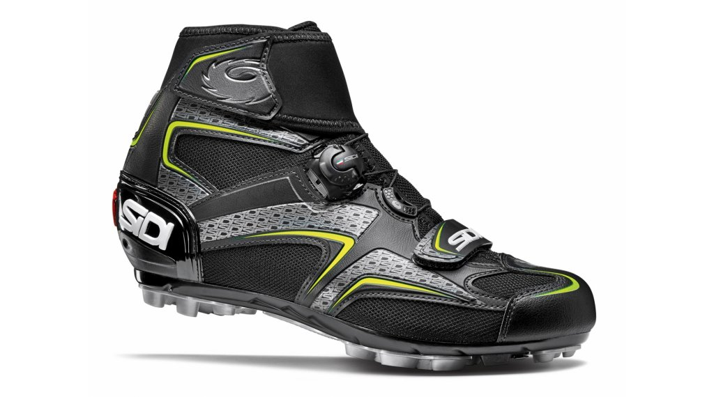 Sidi Frost Gore Winter MTB-Schuhe Herren Gr. 39.0 black/yellow